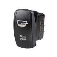 Bilge Pump Rocker Switch with LED - 12/24v