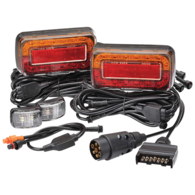 Trailer Light Kit with Wiring and Side Markers