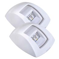 9-33V Port & Starboard Led Lamp Set - White