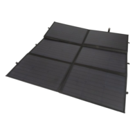 200W Canvas Foldable Solar Panel with Controller and Plugs