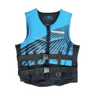 Adult Neoprene Buoyancy/Watersports/Ski Vest 3XL Blue/Black