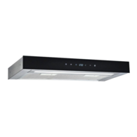 Touch Control 12v Range Hood - Stainless