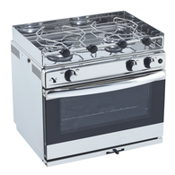 Open Sea 2 Burner Oven with Grill