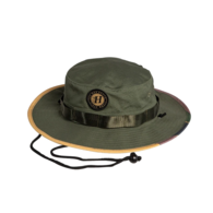 Flying H Wide Brim Hat - Militiary