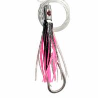 Jet Head Skippy Game Lure Rigged - Black / Pink