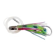 Jet Head Skippy Game Lure Rigged - Rainbow / Green