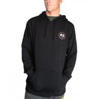 Kraken Tins Hooded Pullover Fleece - Black