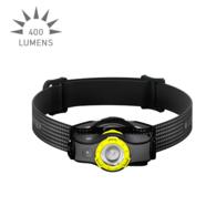 MH5 LED Headlamp 400 Lumen Rechargeable Li-ion