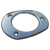 Stainless Steel Cap for Oval Top ABS Rod/Drink Holder