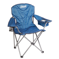 King Size Cooler Folding Arm Chair - Blue