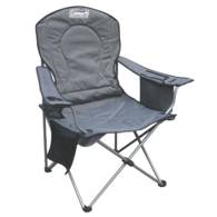 Deluxe Cooler Folding Arm Chair - Grey