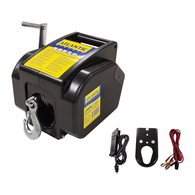 Trailer Winch Power 900kg PULL (To 5.5m max)