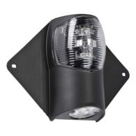 12/24v LED Nav Light Masthead plus Deck Spreader - Black