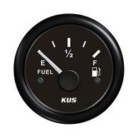 Fuel Gauge - Black 52mm