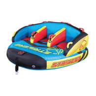 Striker 3-Person Inflatable Towable Water Toy with Pump and Rope
