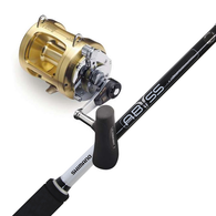 """Tiagra 30WLRS / Abyss 5'6"""" 15-24KG Roller Tip Game Combo"""