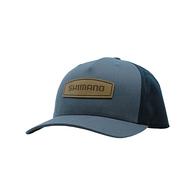 Leather Patch Cap - Ombre Blue