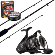 """Pursuit III 3000 / Pursuit 702ML 7'2"""" 3-6KG Spinning Combo 2-Piece with Braid"""