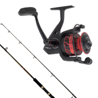 Fierce 3000 / Squadron 8-15LB Spinning Combo with Braid