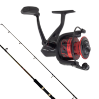 """Fierce 4000 / Squadron 7'0"""" 10-17LB Spinning Combo with Braid"""