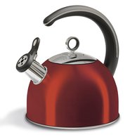 SS Whistling Kettle 2.5 Litres Red