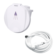 Compact Shower Kit 95mm - White
