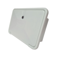 External Shower Hatch with Fold Out Tap & Sprayhead