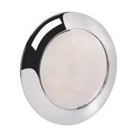 Surface Mount 12v LED Ceiling Light - Satrun Chrome