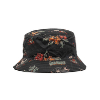 Dirty Vacation Reversible Bucket Hat - Black