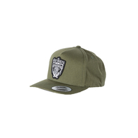 Give A Fk Twill Snapback Cap - Militiary