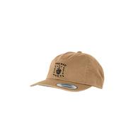 Let Us Live Unstructured Strapback Cap - Khaki