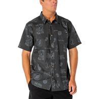 Distorted Short Sleeve Shirt - Black