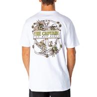 Tropic Captain Short Sleeve T-Shirt - White