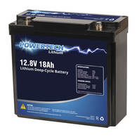 Battery D/Cycle Lithium Ion 12v 18amps