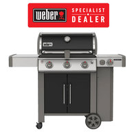 Genesis II E355 BBQ 3 Burner + Side LPG Barbecue - Specialist Model
