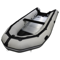 Inflatable Boat 4.20m - Alloy Floor w/Inflat Keel Military Style