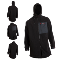 Mokau Heavy Fleece Jacket - Black