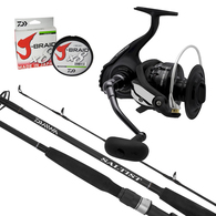 "Nero 5000 / Saltist SJ Topwater Combo 7'9"" PE5 2-Piece with Braid"