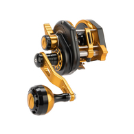 JIGGING MASTER REEL OHEAD 6.3:1 - BLACK/GOLD
