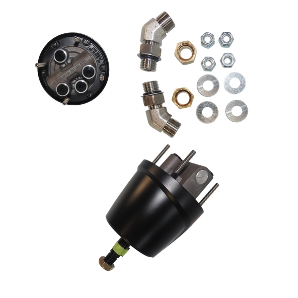 Hydraulic Outboard Steering Kit To 150Hp - Front Mt (15M
