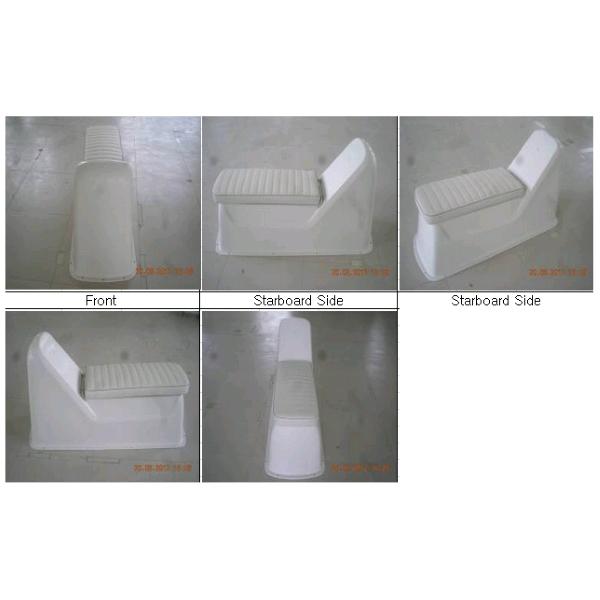 Jockey Console Deluxe Fibreglass W/Upholstery | Smart Marine