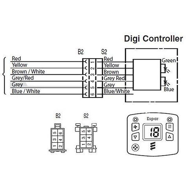 Eberspacher 801 Control Wiring Diagram - Wiring Diagrams ROCK