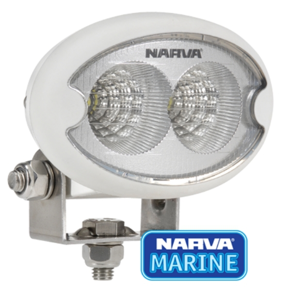 Marine Lumens L E D Flood Light 9v 64v Oval White Smart Marine