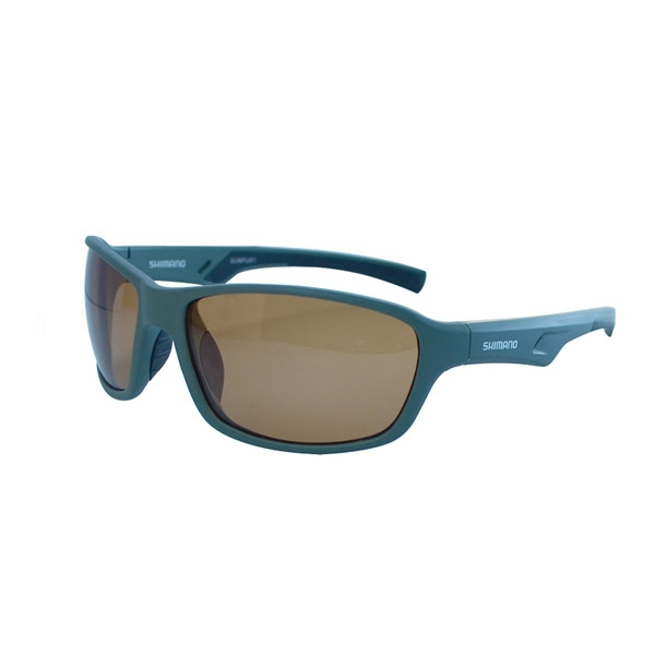 6f0ea4a572 Shimano Purist Polarised Fishing   Boating Sunglasses - Green With Amber  Lens