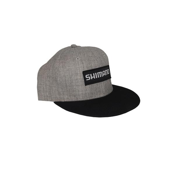 7ba7ed5f3a284 Shimano Black Patch Adjustable Snapback Cap