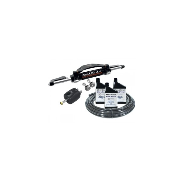 Hydraulic Outboard Steering Kit To 600Hp - Front Mt - Dual