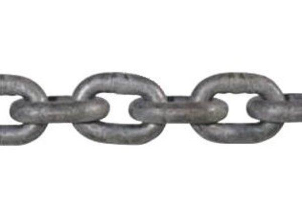 Din 766 7Mm Short Link Galvanised Windlass Anchor Chain